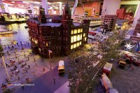Hotel New York in Miniworld Miniaturwelt Rotterdam Holland