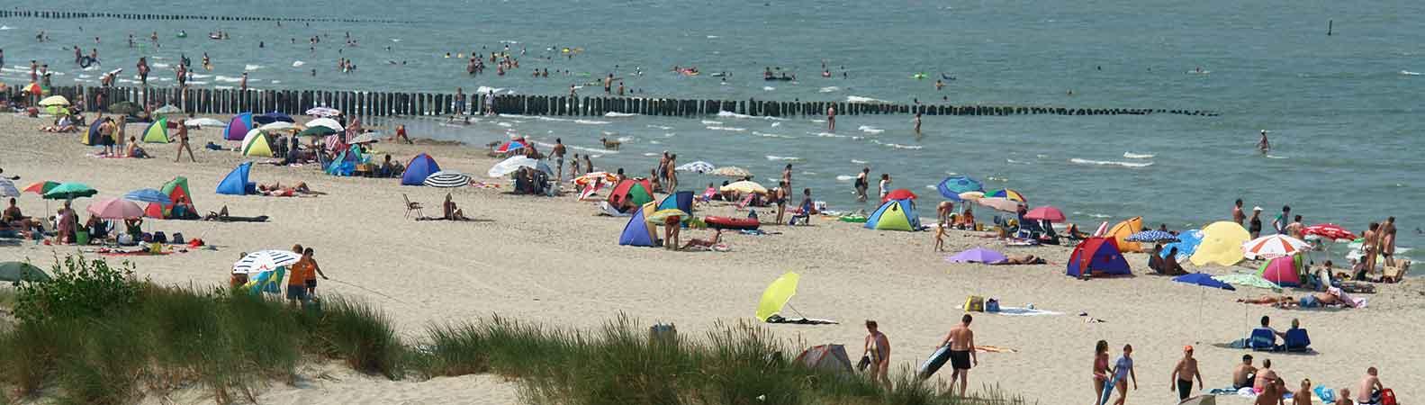 Strand Niederlande